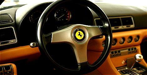 Leipzig Youngtimer Verkauf Foto: Ferrari 456 GT Innenansicht