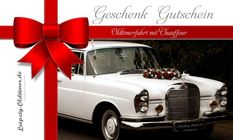 Geschenkgutschein Oldtimerfahrt Leipzig Erlebnisgeschenke