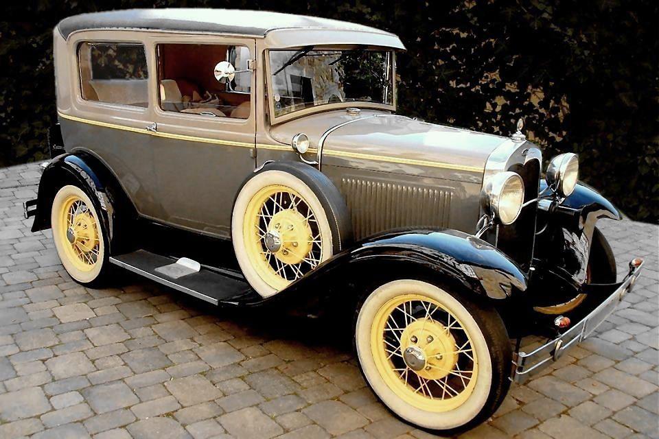 Ford-Model-A Sedan