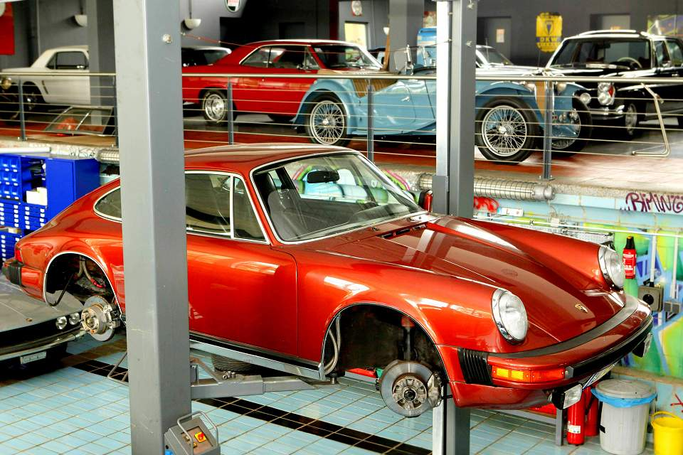 Foto: Porsche 911 Youngtimer Restauration