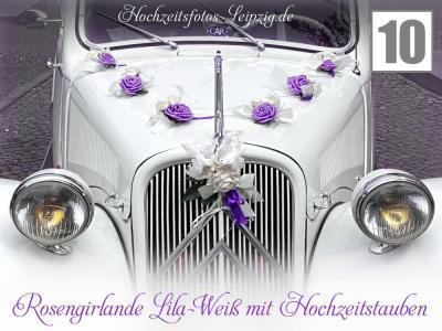 Leipzig Oldtimer Hochzeit Autoschmuck 1k