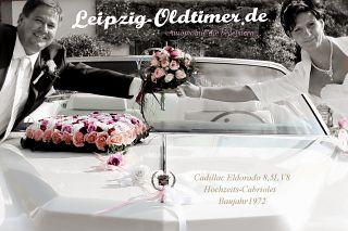 Cadillac Hochzeitscabrio mieten (Leipzig US CAR Vermietung)