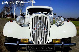 Citroen-Oldtimer-Hochzeitsauto (Oldtimervermietung Grimma)