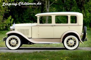 Mietwagen Oldtimer: Ford Baujahr 1930. (Oldtimer Vermietung Wurzen)
