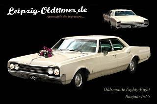 US CAR Oltimer Vermietung Chemnitz: Oldsmobile Eighty Eight