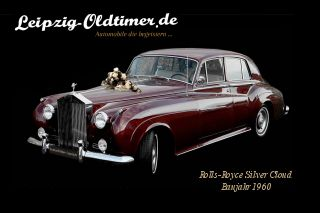 Rolls-Royce in Leipzig mieten: Rolls-Royce-Silver-Cloud-2-Limousine-Baujahr-1960