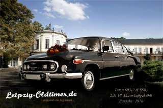 Hochzeitsauto-Vermietung: Tatra in Leipzig mieten: Tatra-603-Oldtimer-Baujahr-1970