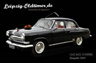 Wolga in Leipzig mieten: Wolga-M21 Hochzeitsauto-Vermietung