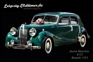 Austin Oldtimer in Leipzig mieten: Austin Sheerline A125 Baujahr 1952