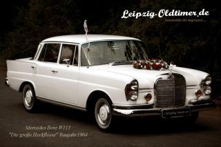 Mercedes Benz Oldtimer zur Hochzeit mieten (Leipzig Oldtimer Vermietung)