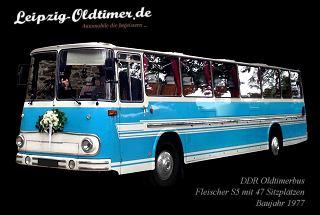 Leipzig-Oldtimer.de - Hochzeitsbus-Vermietung: Oldtimerbus mieten